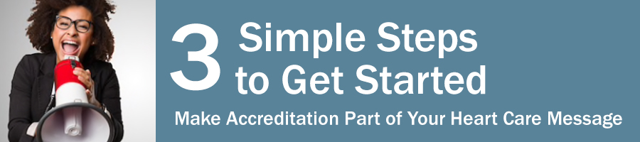 Three Steps to Announce Your Accreditation