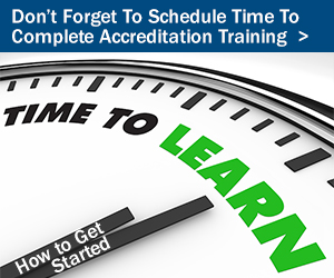 Accreditation Training Workshops